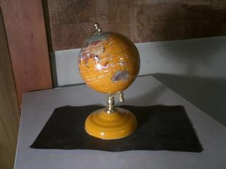 Tangerinear Yellow Globe